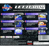 Beyblade Let it Rip for PlayStation 1 back