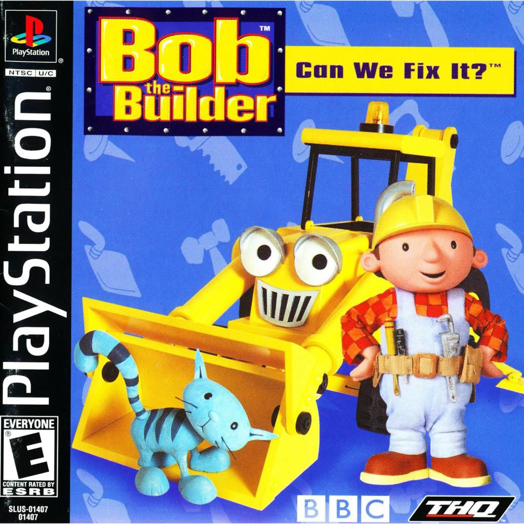 Bob the Builder: Can We Fix It? - PlayStation 1 Game - Complete