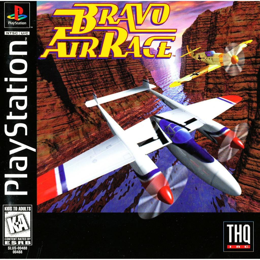 Bravo Air Race - PlayStation 1 Game - Complete