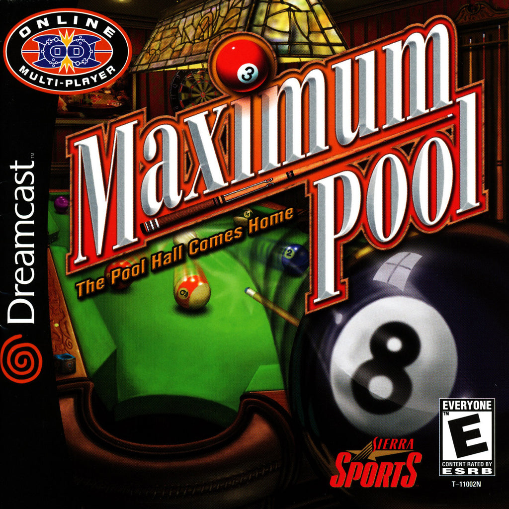Maximum Pool - Sega Dreamcast Game - Complete