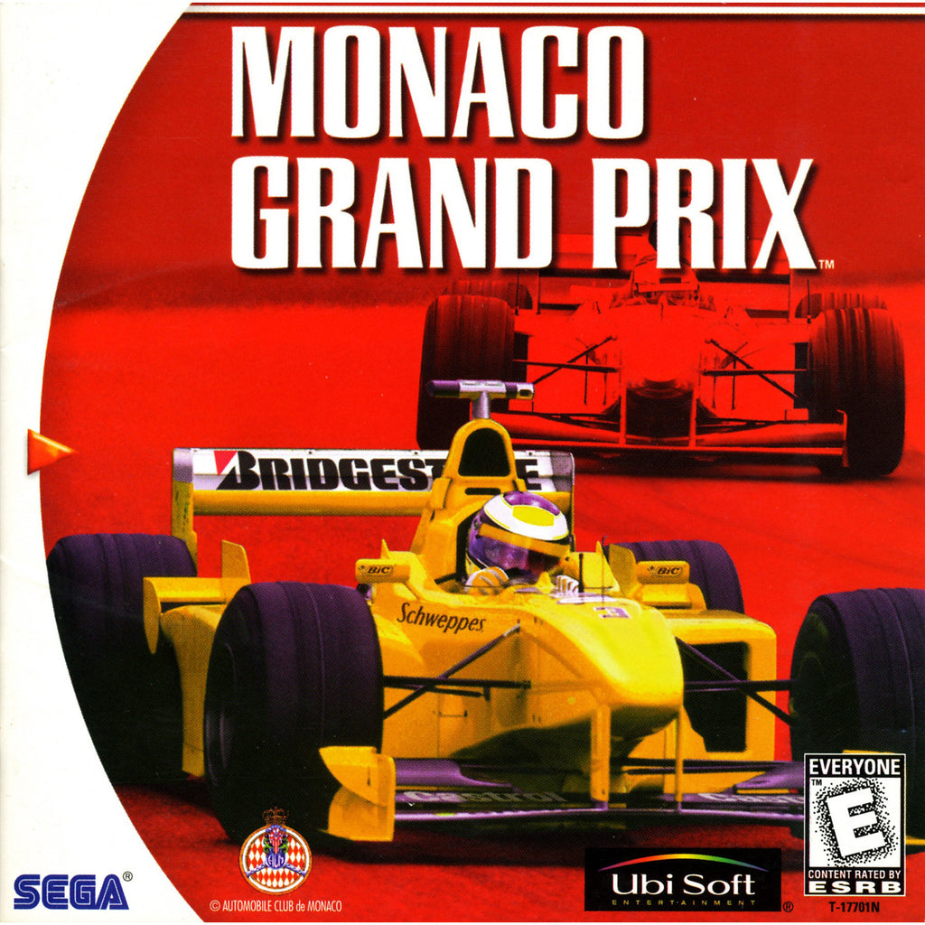 Monaco Grand Prix - Sega Dreamcast Game - Complete