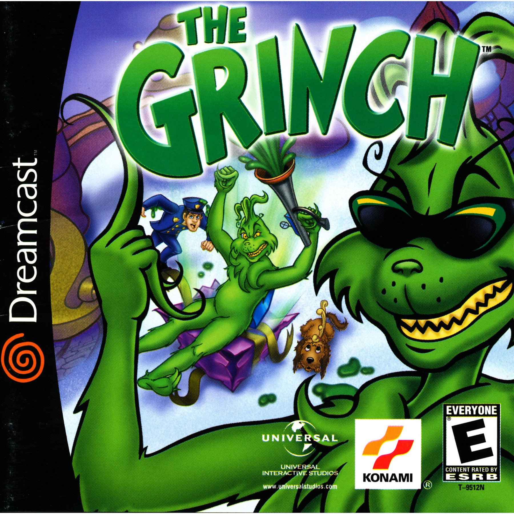 The Grinch - Sega Dreamcast Game - Complete