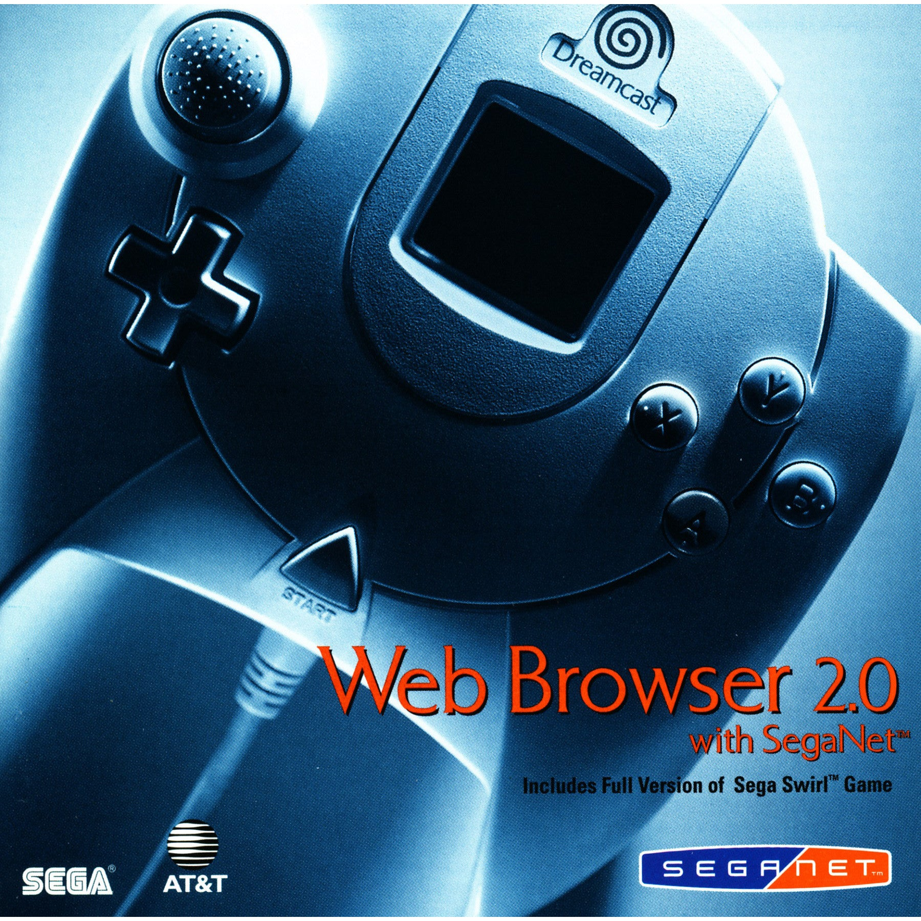 Web Browser 2.0 with Sega Swirl - Dreamcast Game - Complete