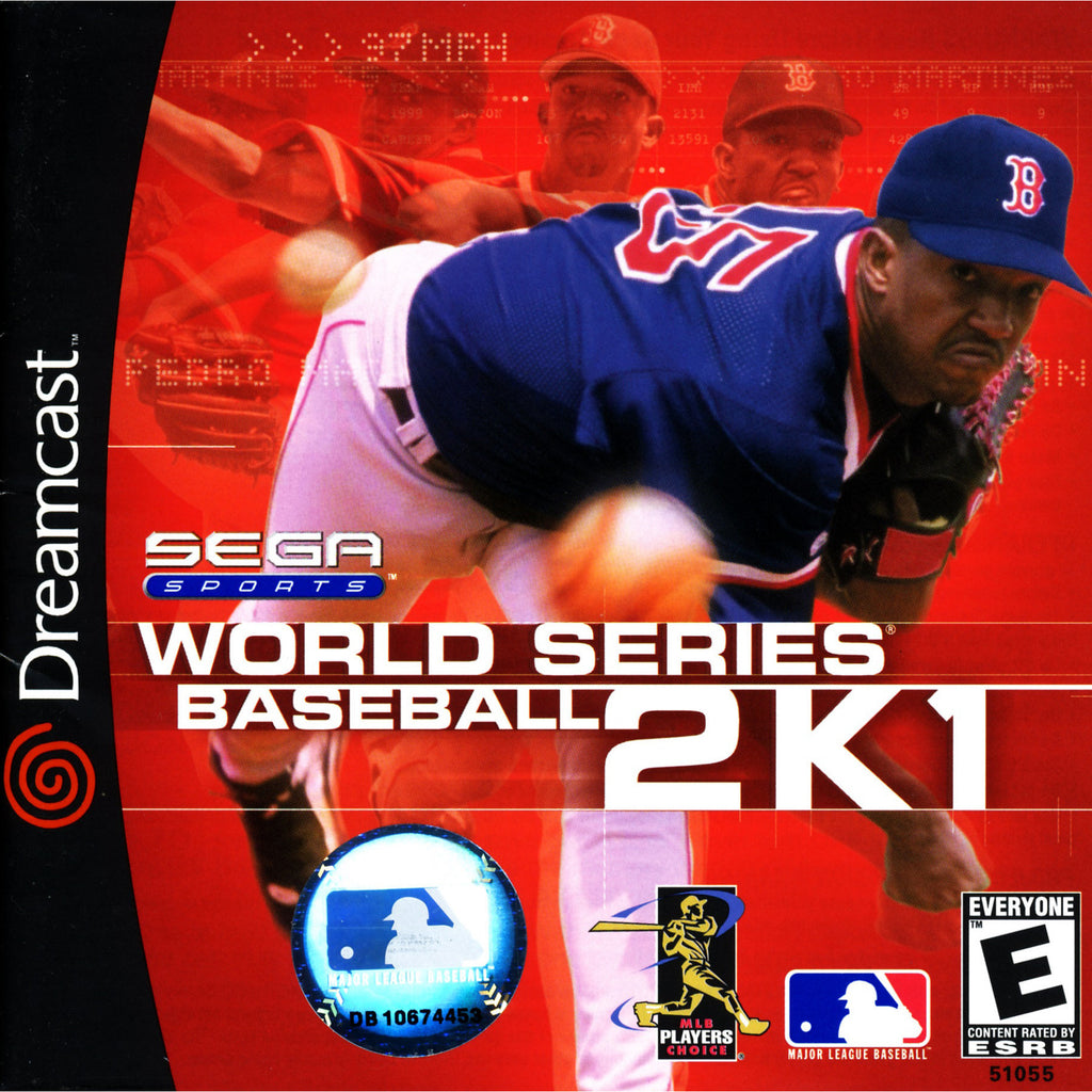 World Series Baseball 2K1 - Sega Dreamcast Game - Complete