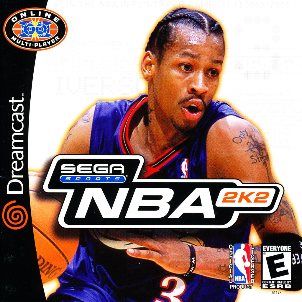 NBA 2K2 - Sega Dreamcast Game - Complete