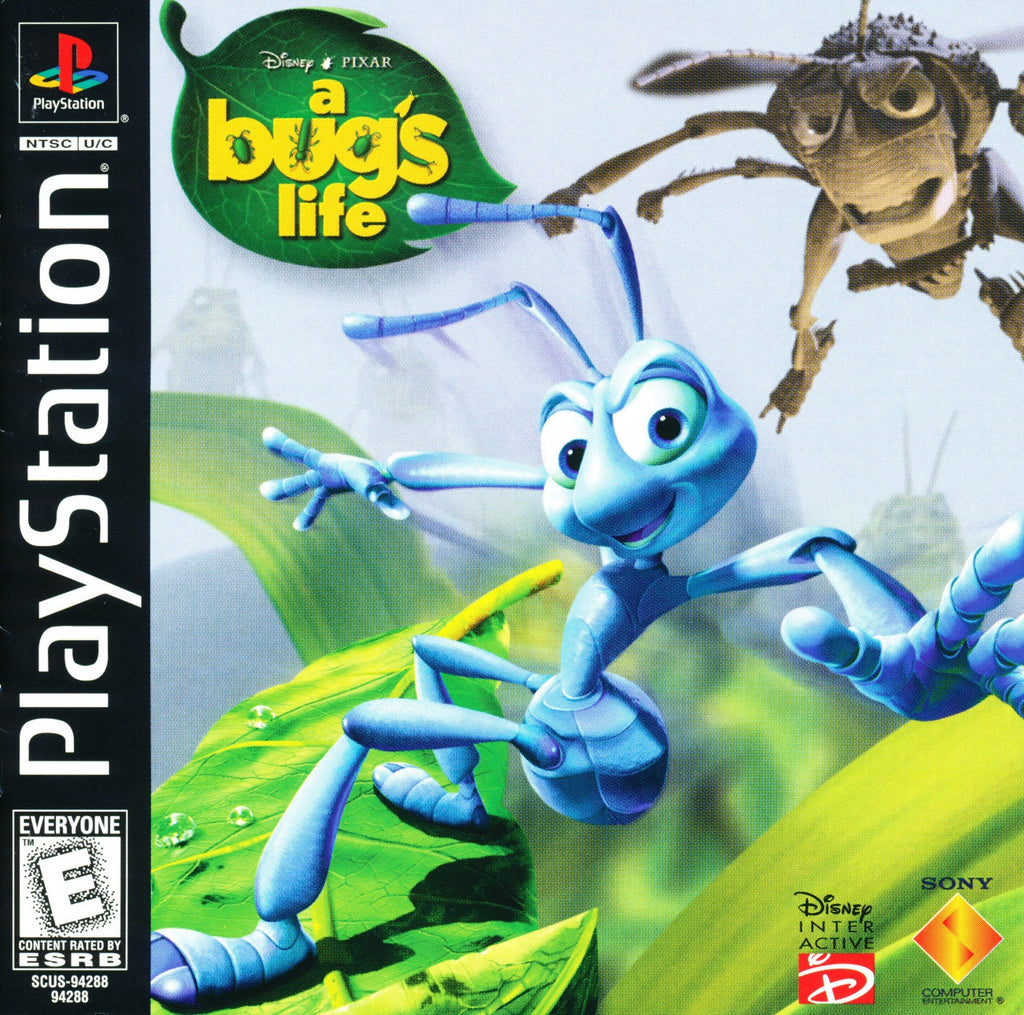 Disney/Pixar A Bug's Life - PlayStation 1 Game - Complete