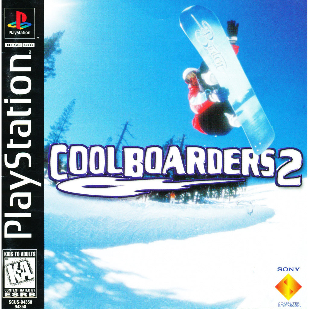 Cool Boarders 2 - PlayStation 1 Game - Complete