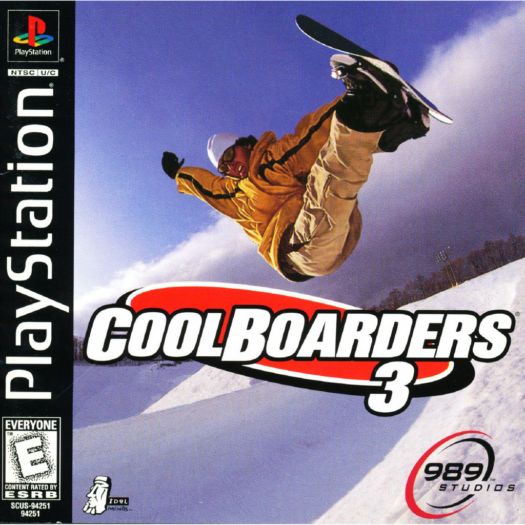 Cool Boarders 3 - PlayStation 1 Game - Complete