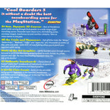 Cool Boarders 3 for PlayStation 1 back