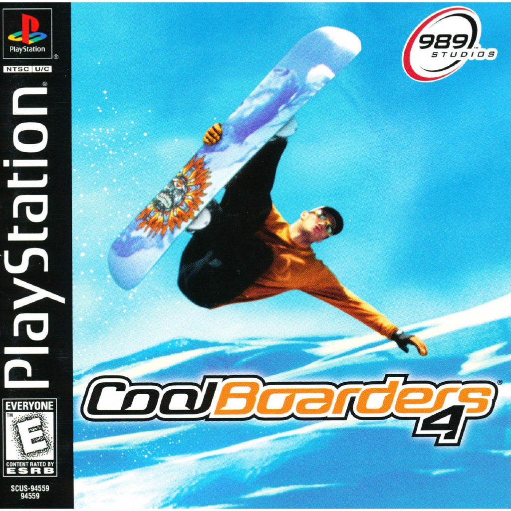 Cool Boarders 4 - PlayStation 1 Game - Complete