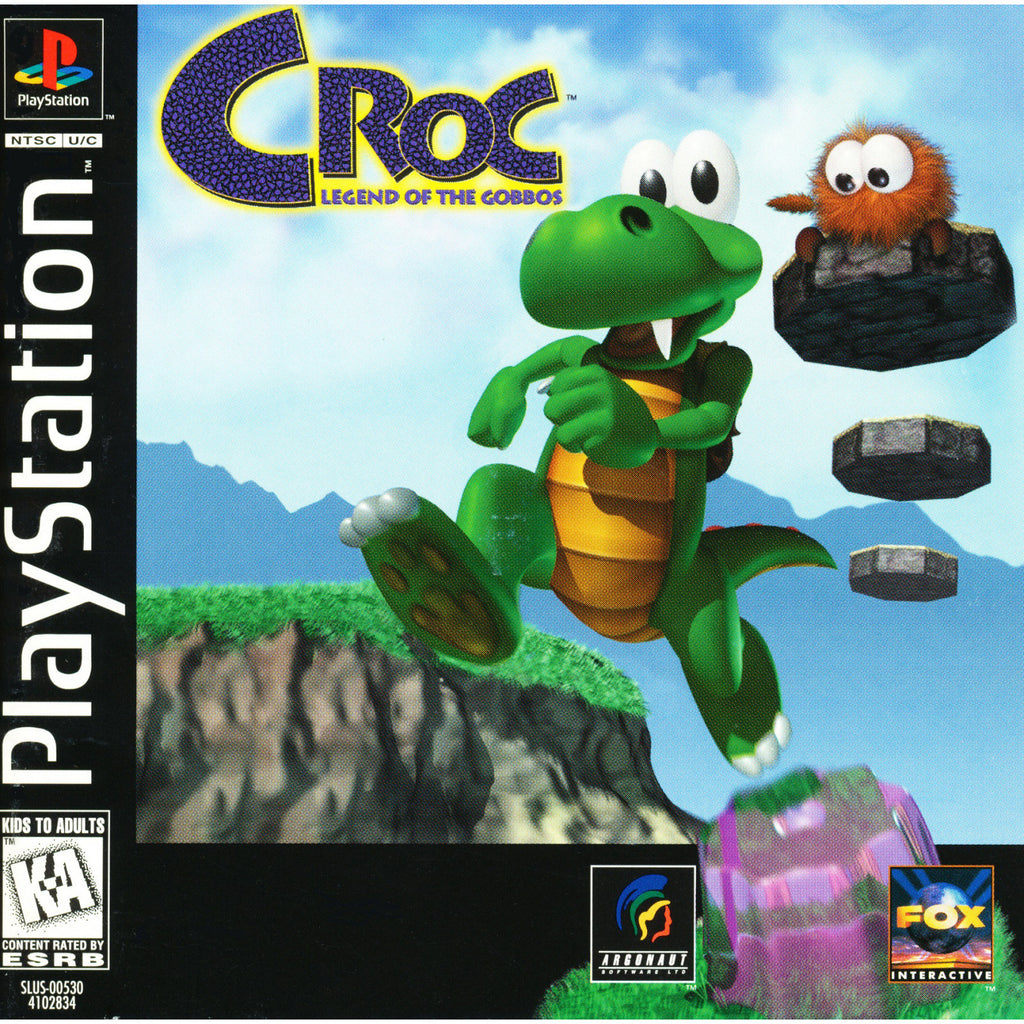 Croc: Legend of the Gobbos - PlayStation 1 Game - Complete