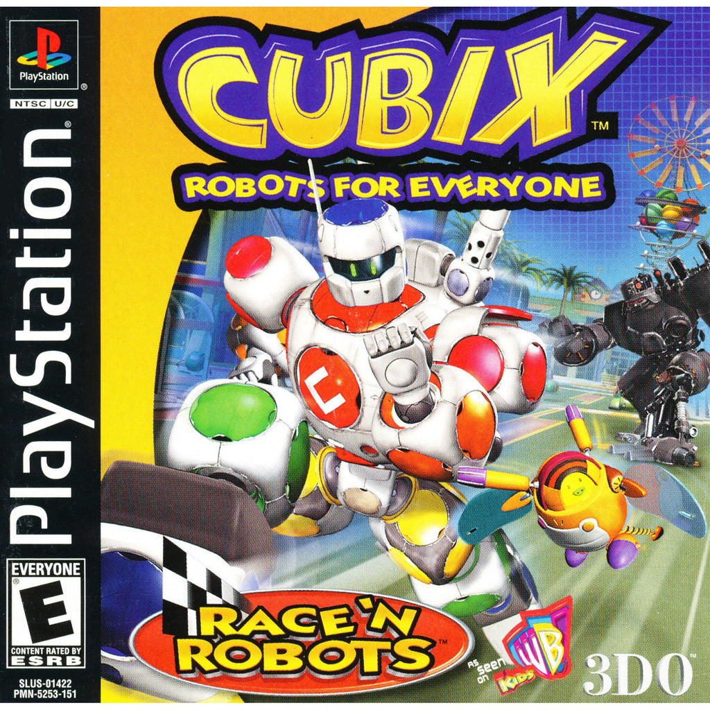 Cubix: Robots for Everyone - PlayStation 1 Game - Complete