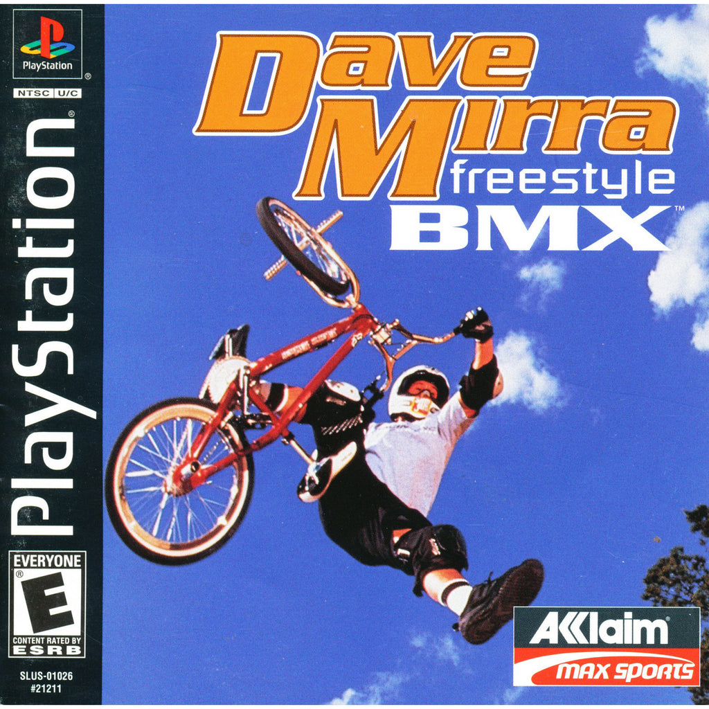 Dave Mirra Freestyle BMX - PlayStation 1 Game - Complete