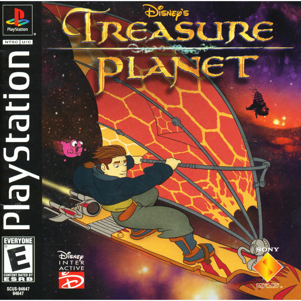 Disney's Treasure Planet - PlayStation 1 Game - Complete