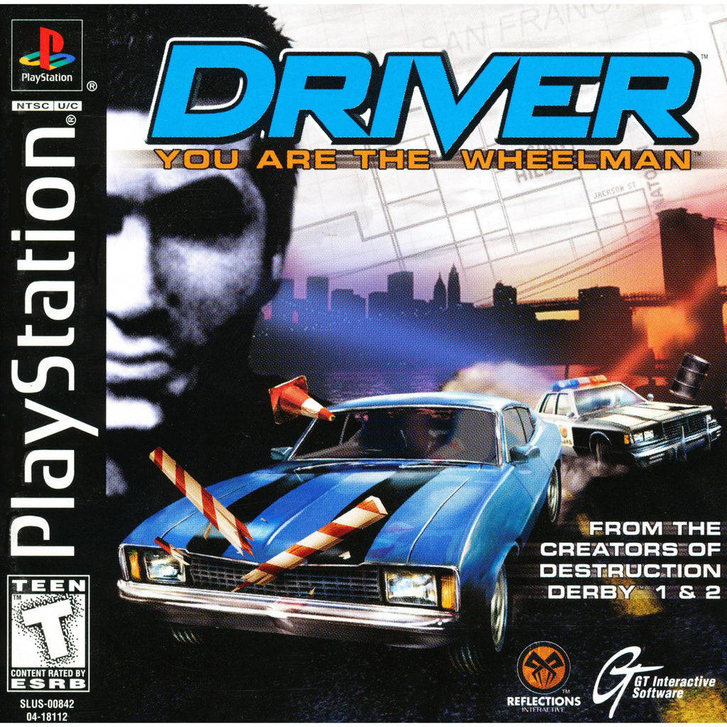 Driver - PlayStation 1 Game - Complete
