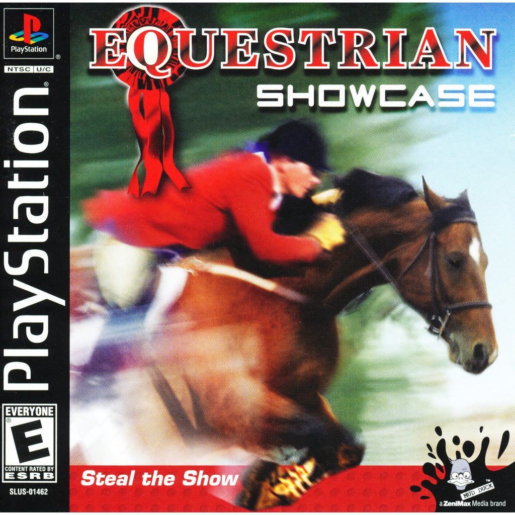 Equestrian Showcase - PlayStation 1 Game - Complete