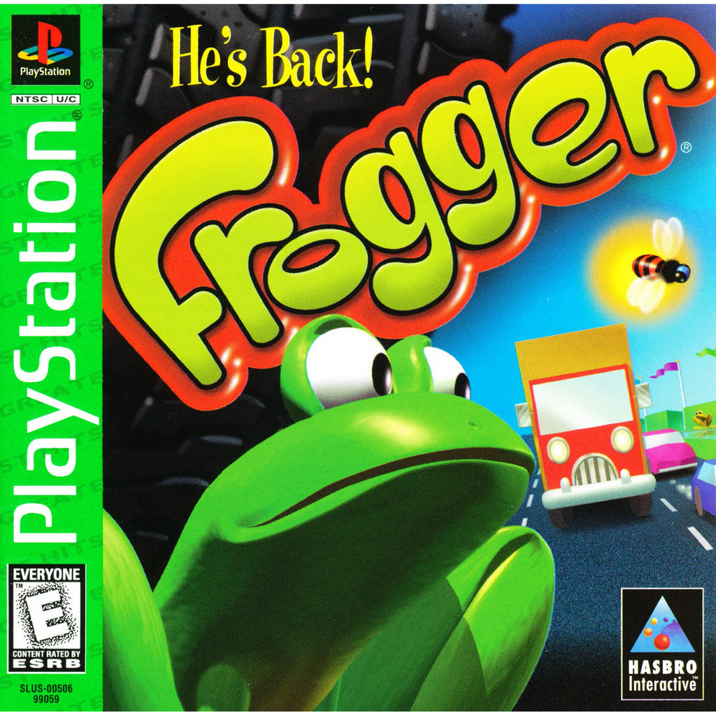 Frogger - PlayStation 1 Game - Complete