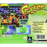 Frogger for PlayStation 1 back