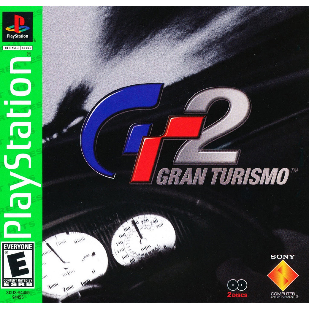 Gran Turismo 2 - PlayStation 1 Game - Complete
