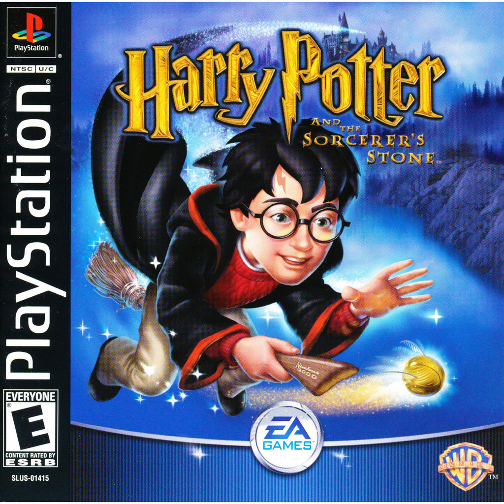 Harry Potter & the Sorcerer's Stone - PlayStation 1 Game - Complete
