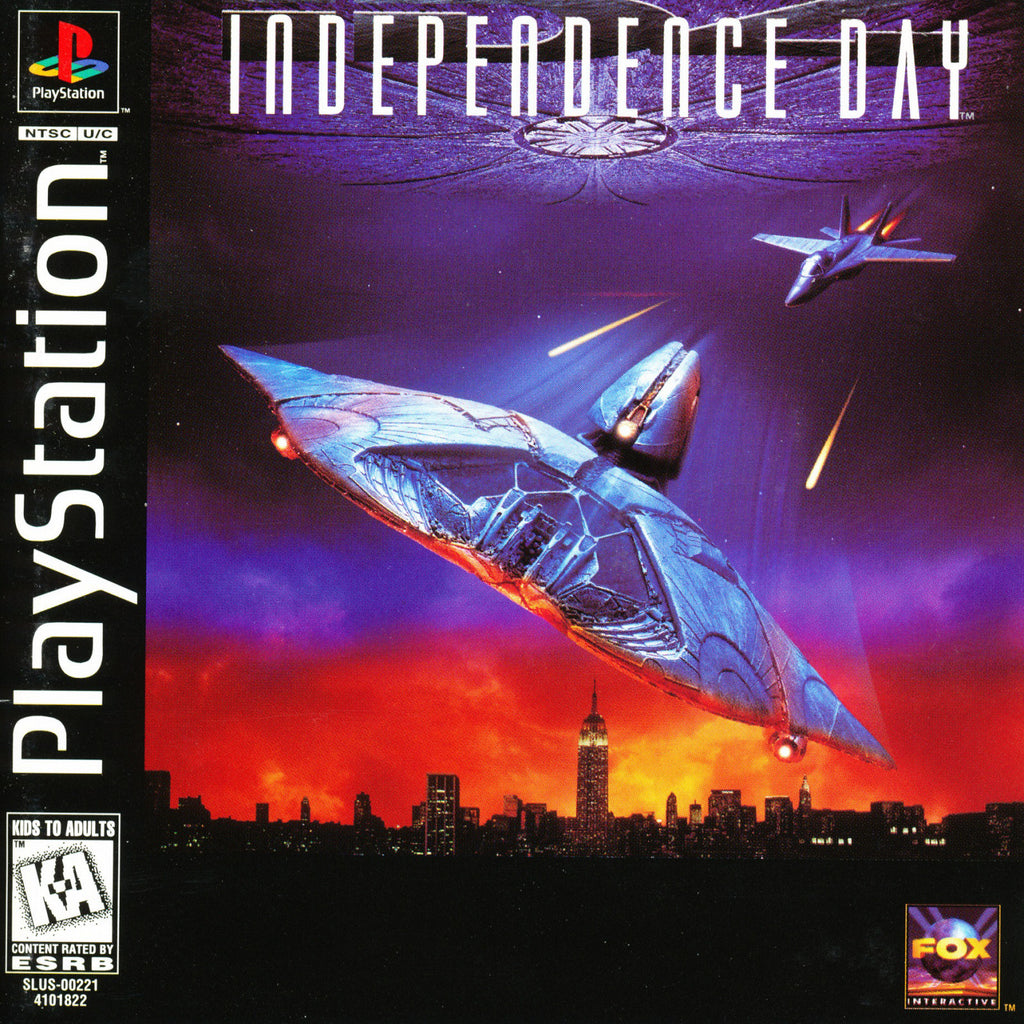 Independence Day - PlayStation 1 Game - Complete