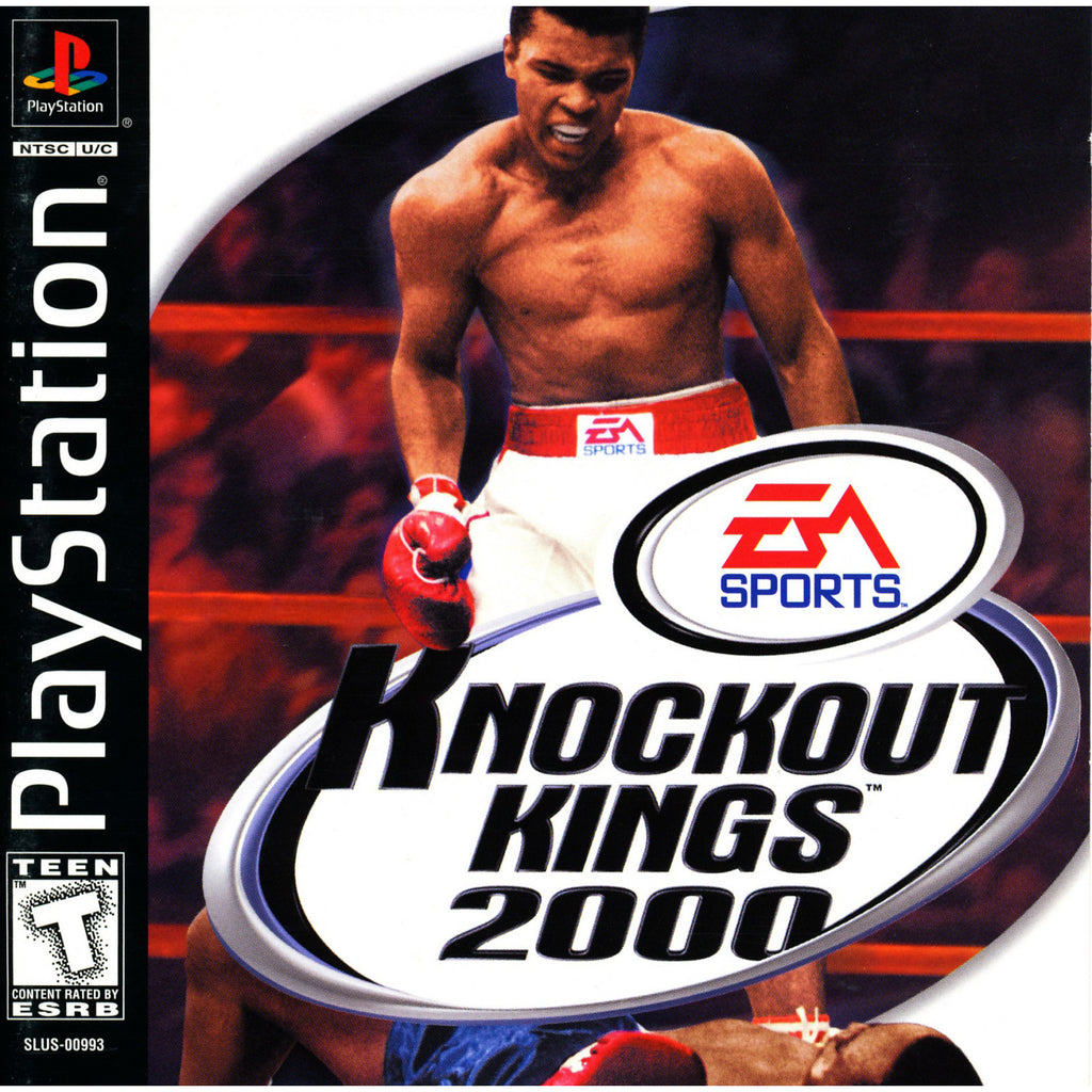 Knockout Kings 2000 - PlayStation 1 Game - Complete