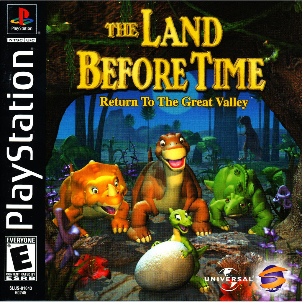 The Land Before Time - PlayStation 1 Game - Complete