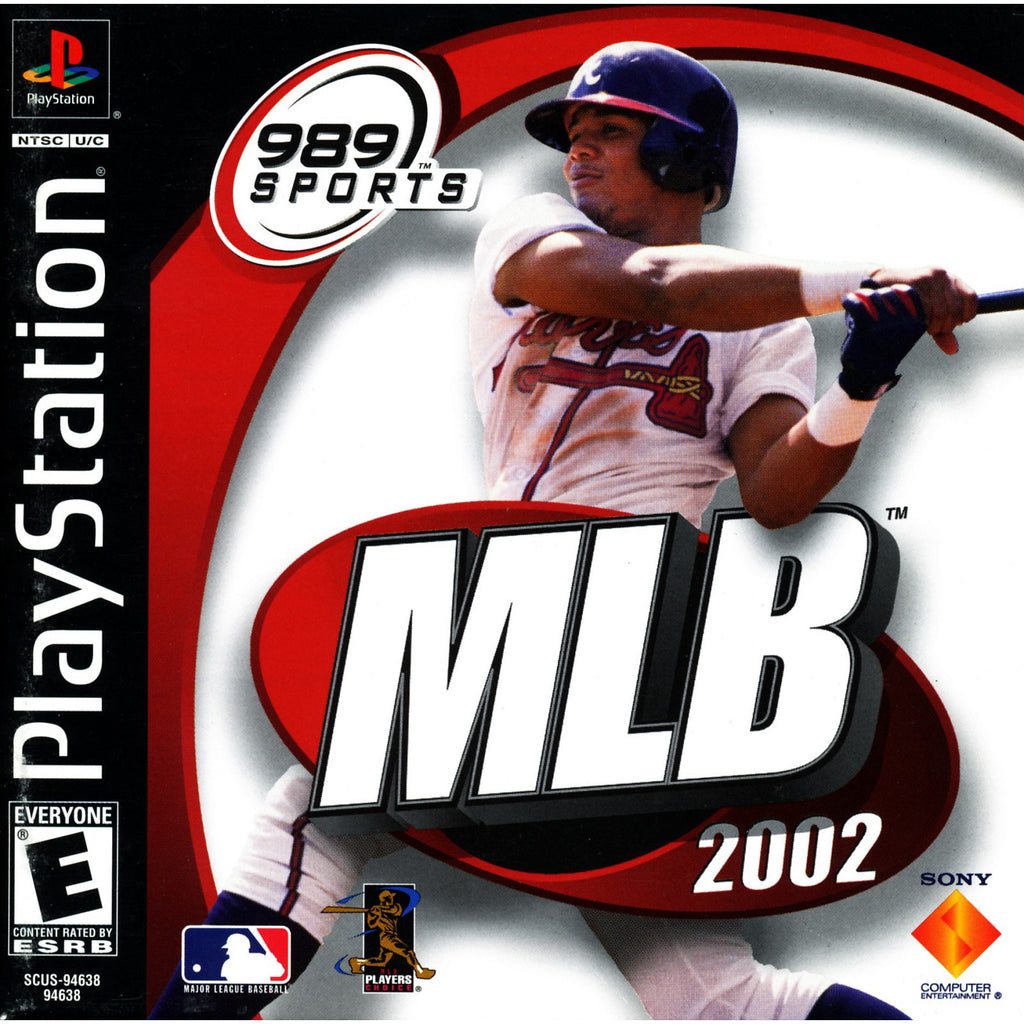 MLB 2002 - PlayStation 1 Game - Complete