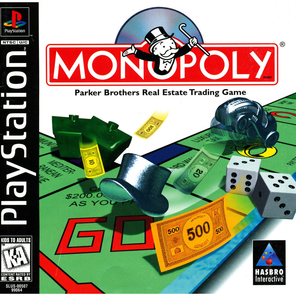 Monopoly - PlayStation 1 Game - Complete