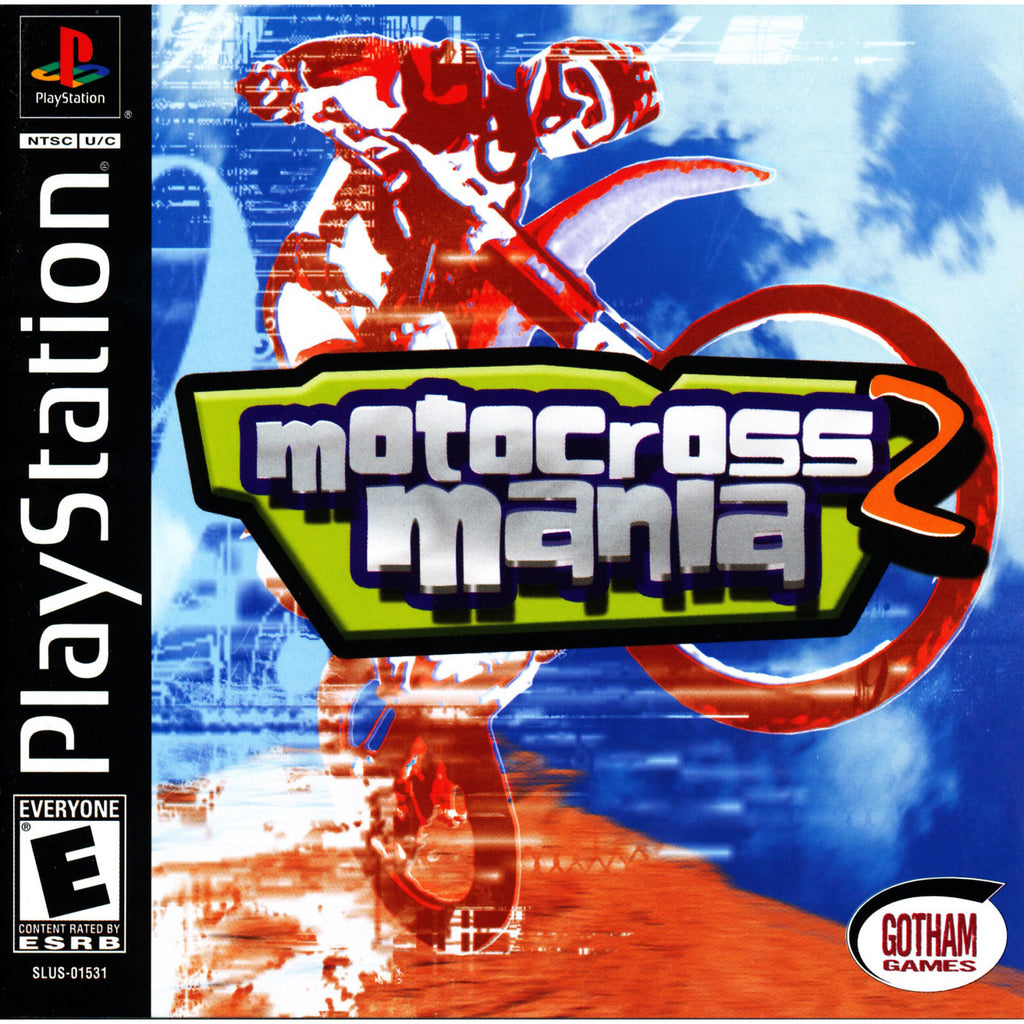 Motocross Mania 2 - PlayStation 1 Game - Complete