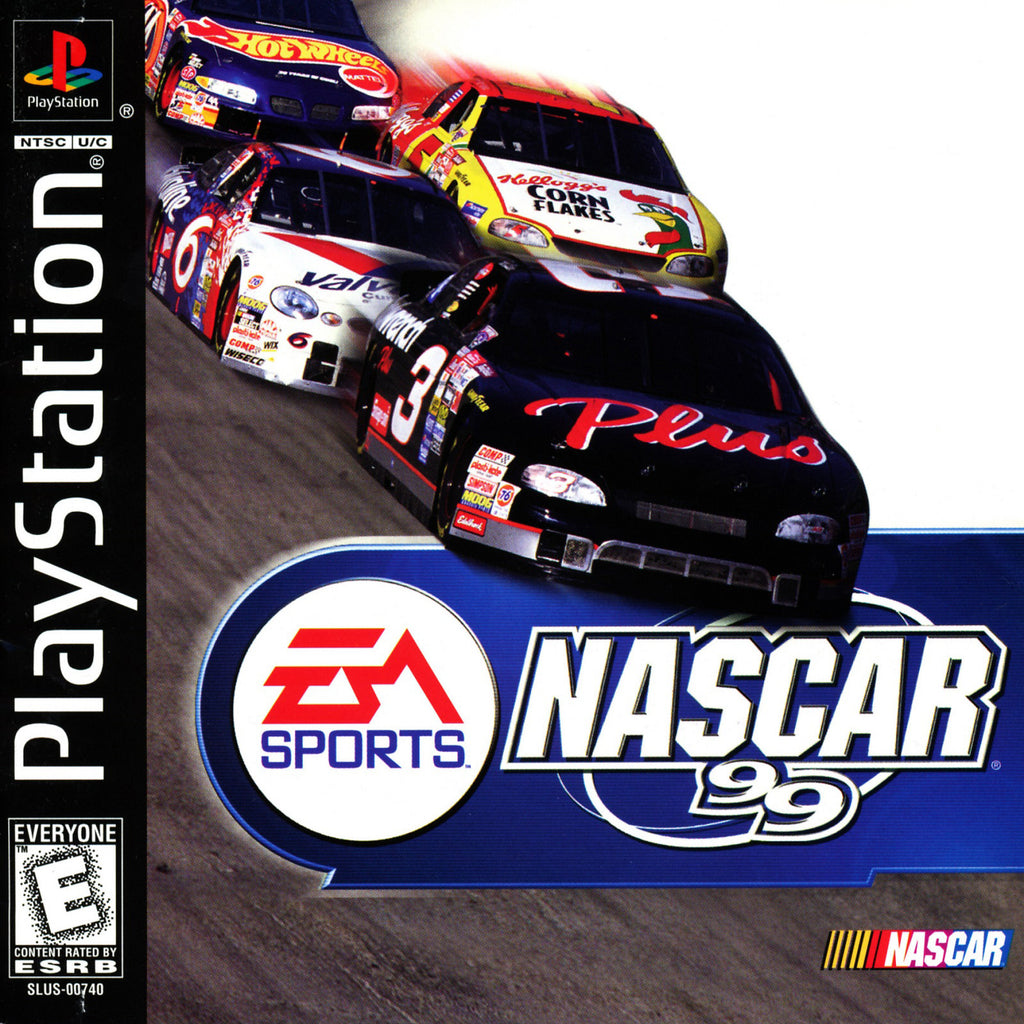 NASCAR 99 - PlayStation 1 Game - Complete