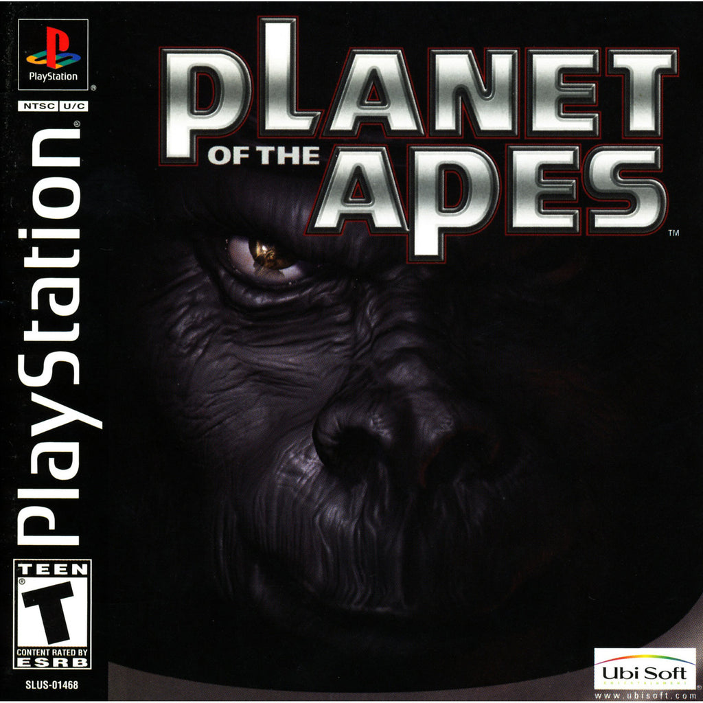 Planet of the Apes - PlayStation 1 Game - Complete