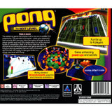 Pong The Next Level for PlayStation 1 back