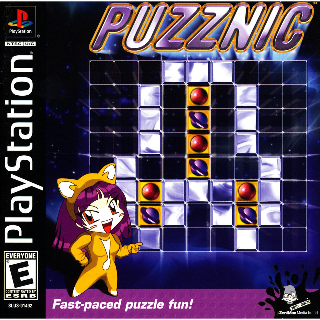 Puzznic - PlayStation 1 Game - Complete