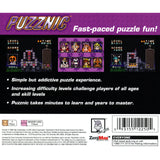 Puzznic for PlayStation 1 back
