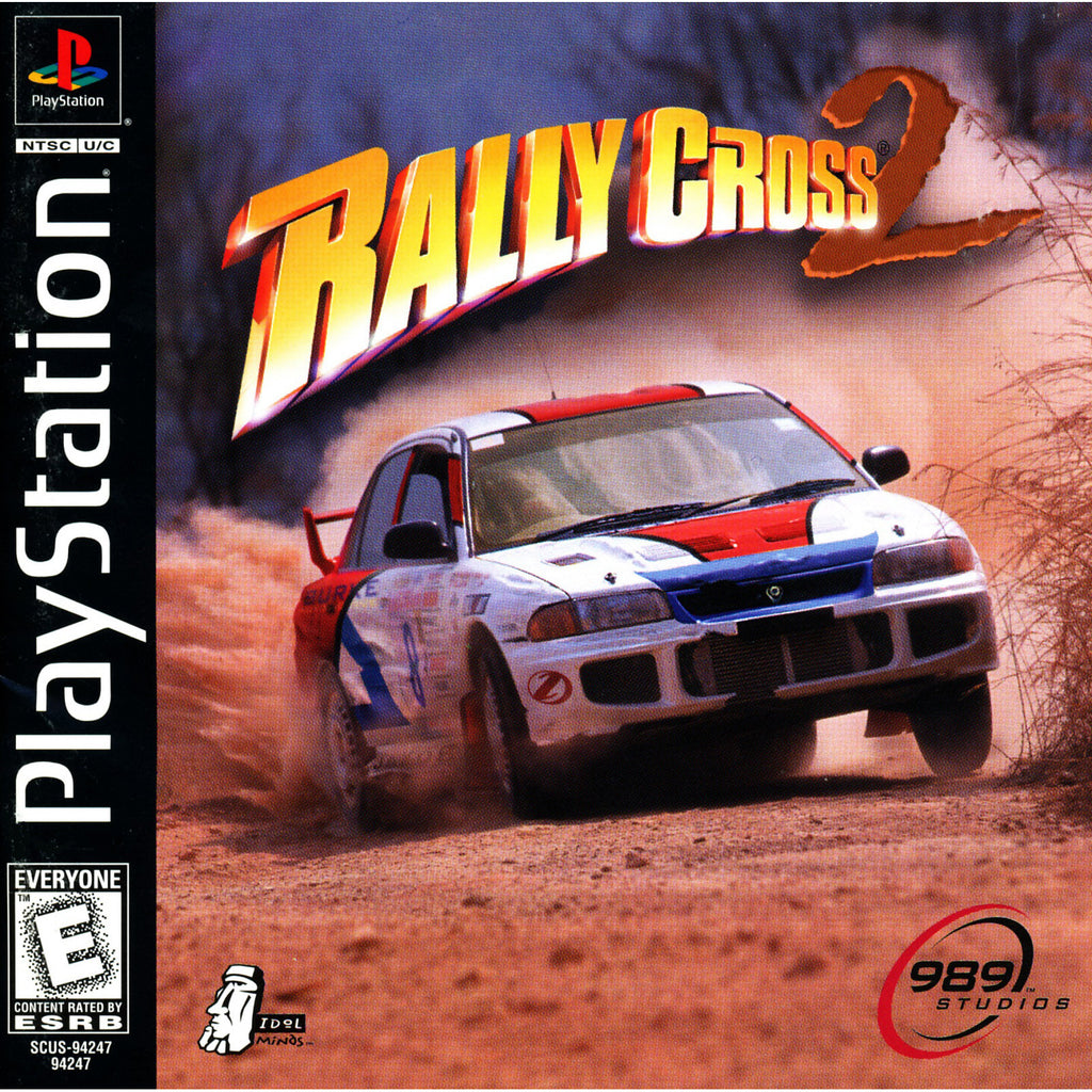 Rally Cross 2 - PlayStation 1 Game - Complete