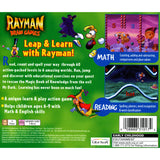 Rayman Brain Games for PlayStation 1 back