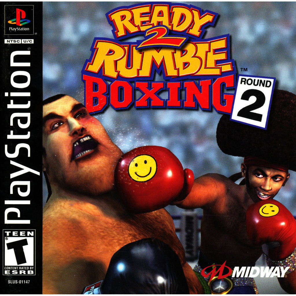 Ready 2 Rumble Boxing: Round 2 - PlayStation 1 Game - Complete