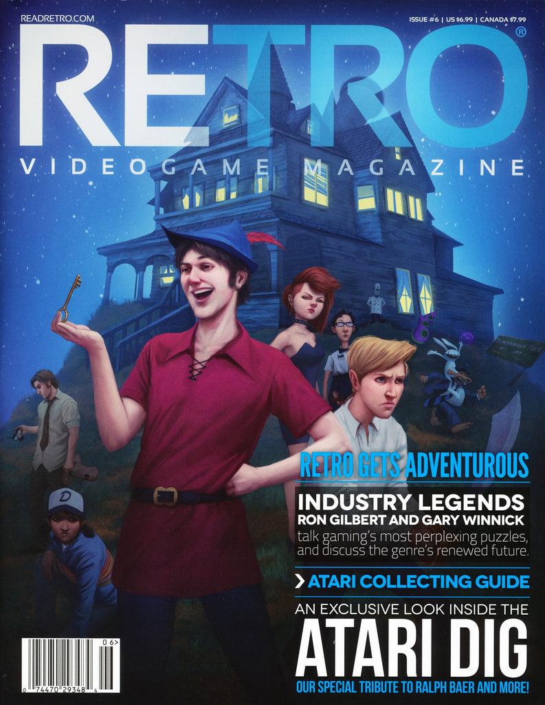 RETRO Video Game Magazine, Issue 06 2015, Adventure Games