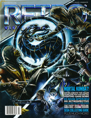 RETRO Video Game Magazine, Issue 07 2015, Mortal Kombat, Fighting Games
