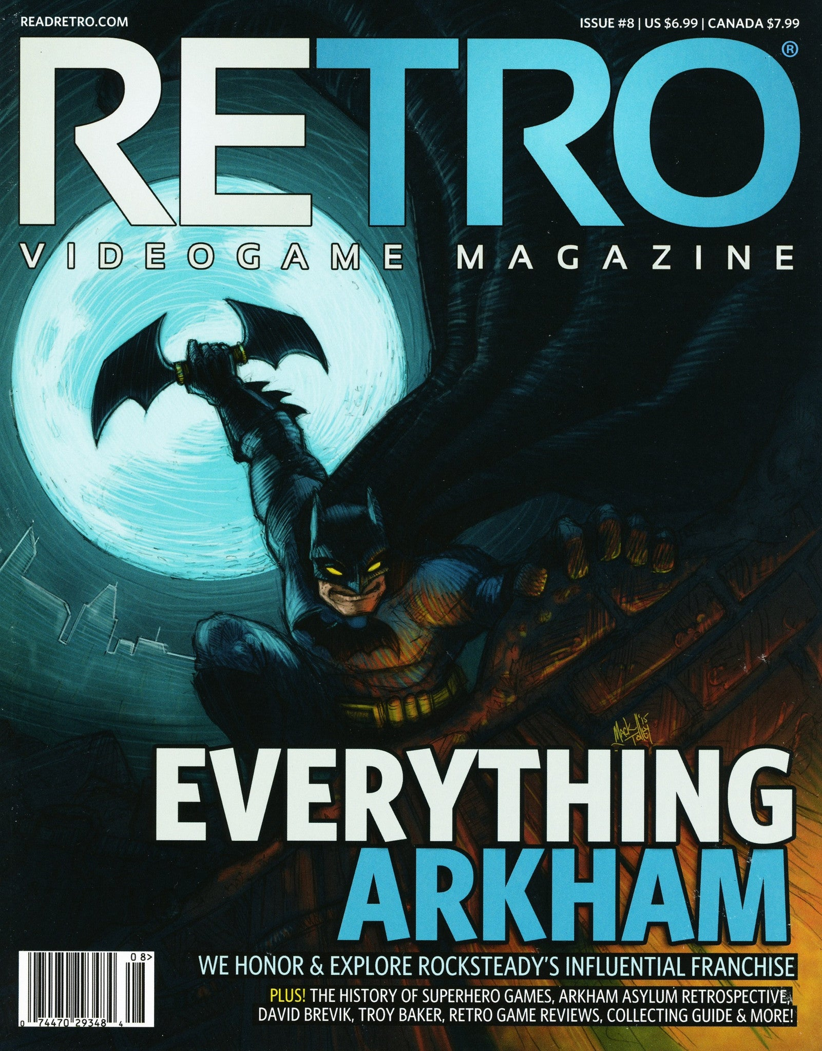 RETRO Video Game Magazine Issue 8