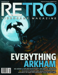 RETRO Video Game Magazine, Issue 08 2015, Batman, Spiderman