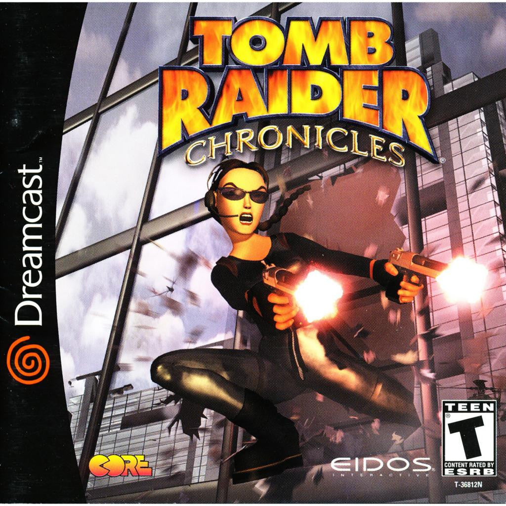 Tomb Raider Chronicles - Sega Dreamcast Game - Complete