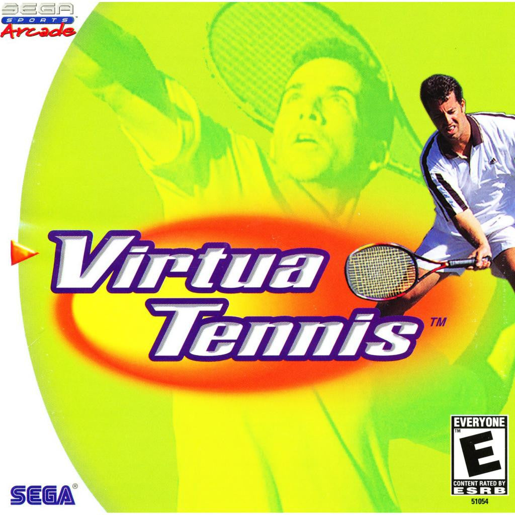 Virtua Tennis - Sega Dreamcast Game - Complete