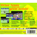 Virtua Tennis for Dreamcast back