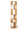 Oak Stairs Column Shelving by Ethnicraft