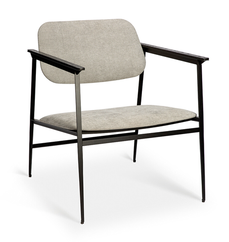 DC Lounge Chair by Ethnicraft - Light Grey