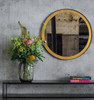 Gold Leaf Wall Mirror by Ethnicraft