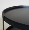 Humla End Table Black by Sketch