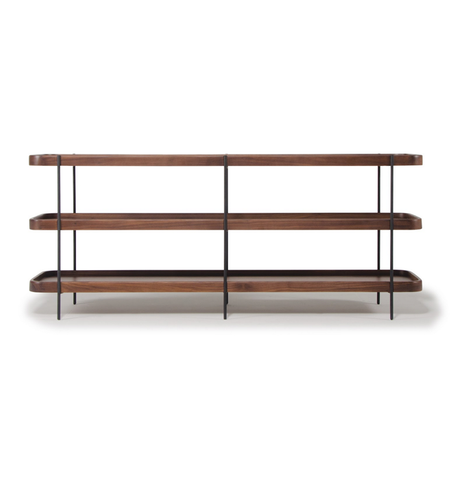 Humla Double Console - Walnut